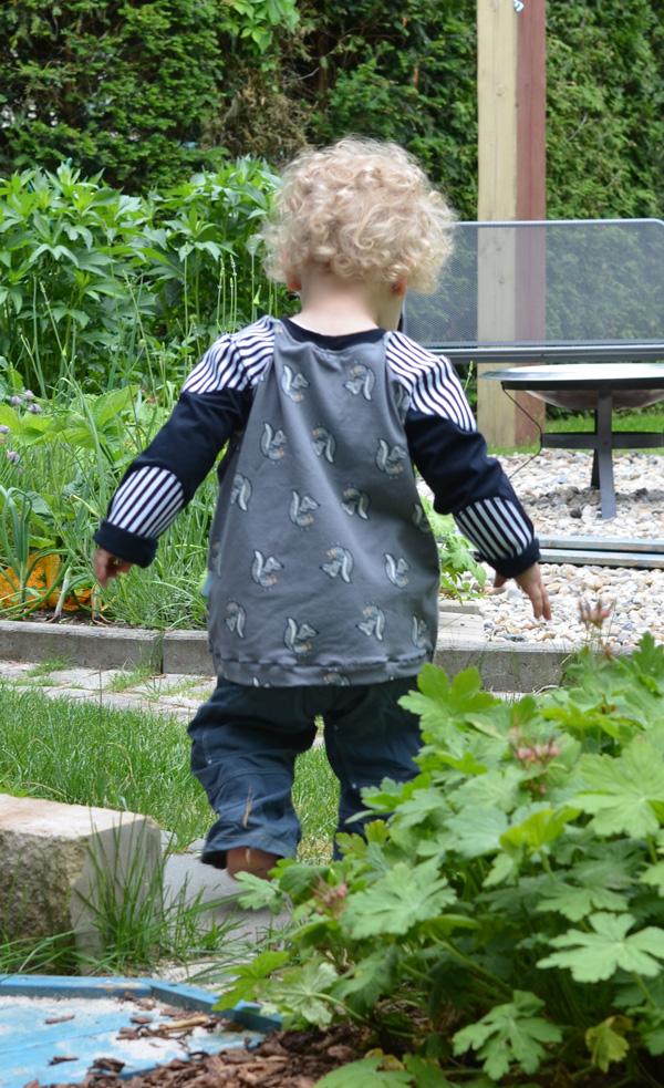 farbenmix summer kids sew along Pattenshirt Tomboy und Pitt Funktionshose